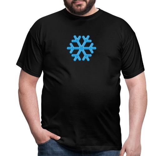 Snowflake - Maglietta da uomo