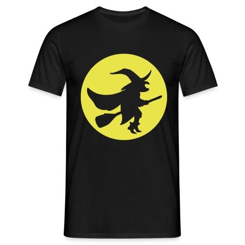 hexe_1farbig - Männer T-Shirt