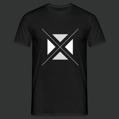 triangles-png - Men's T-Shirt