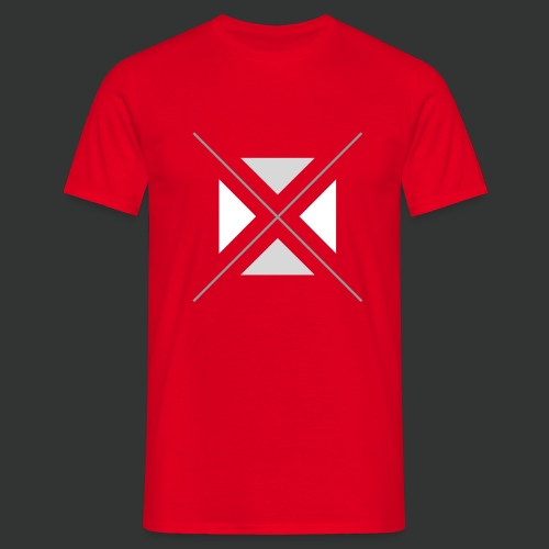 hipster triangles - Men's T-Shirt