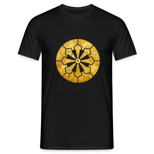 Sanja Matsuri Komagata mon gold - Men's T-Shirt