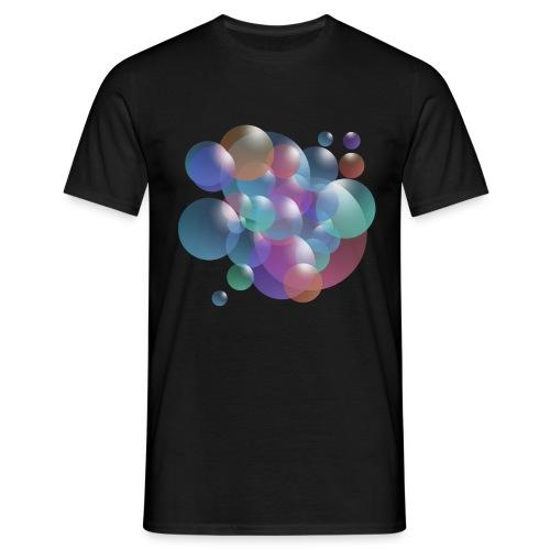 bubble - Männer T-Shirt