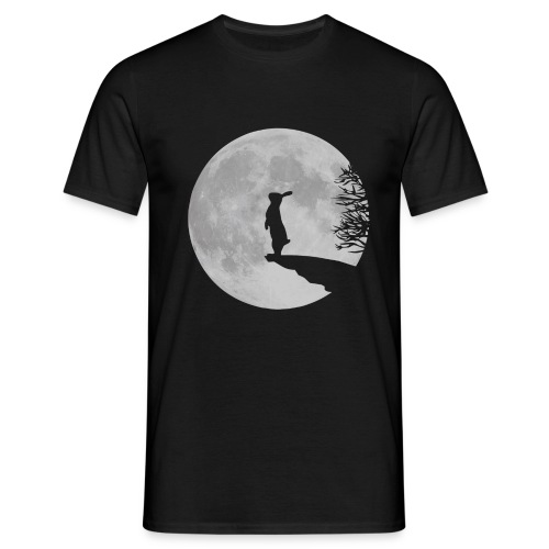 rabbit_wolf-png - Men's T-Shirt