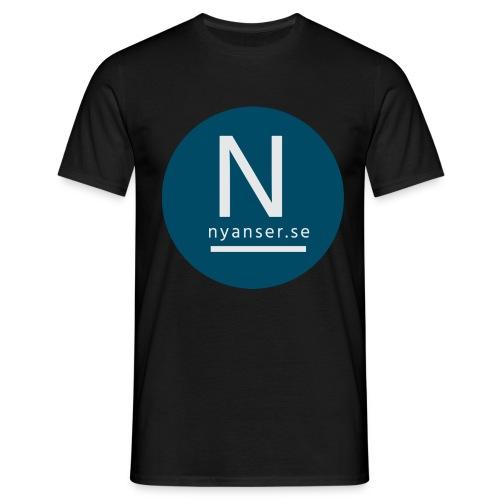 Nyanser.se ärm - T-shirt herr
