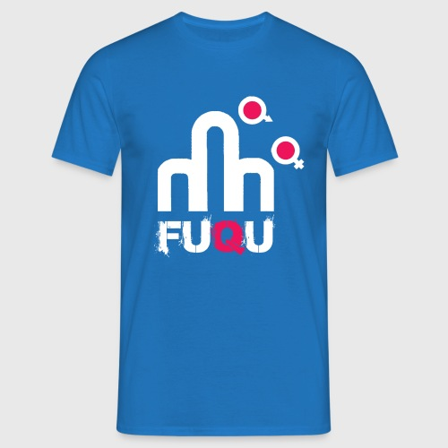 T-shirt FUQU logo colore bianco - Maglietta da uomo
