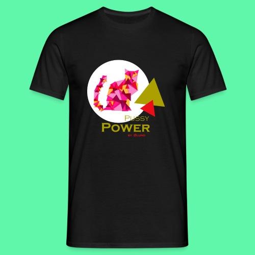 Pussy Power - Herre-T-shirt
