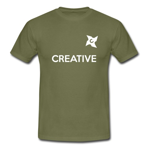 Creative long urban shirt - Herre-T-shirt