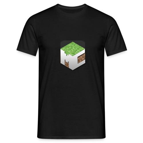 MineCraft 3D - Mannen T-shirt