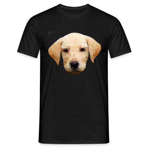 LowPolyDawg - Herre-T-shirt