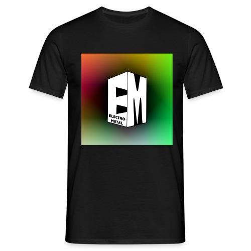 ElectroMetal_Logo - Men's T-Shirt