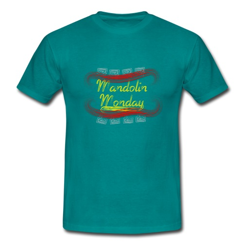 Mandolin Monday - Men's T-Shirt