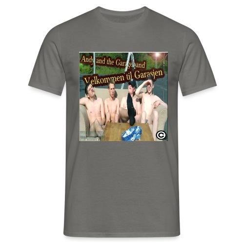Velkommen Til Garasjen - T-skjorte for menn