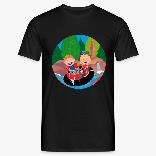 Themepark: Rapids - Mannen T-shirt