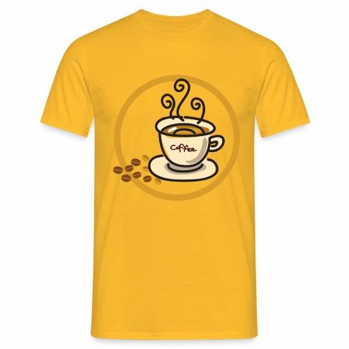 Kaffeeemblem - Männer T-Shirt
