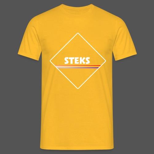 3Color STEKS™ Logo - Mannen T-shirt