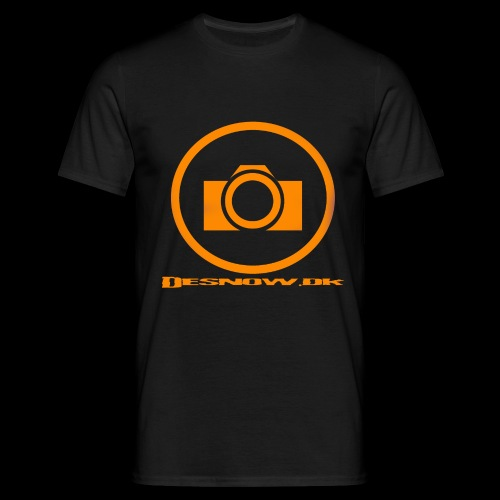 Orange 2 png - Herre-T-shirt