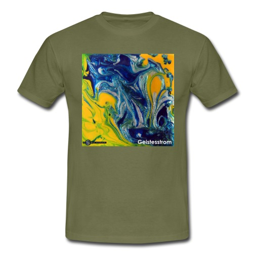 TIAN GREEN Mosaik DE031 - Geistesstrom - Männer T-Shirt