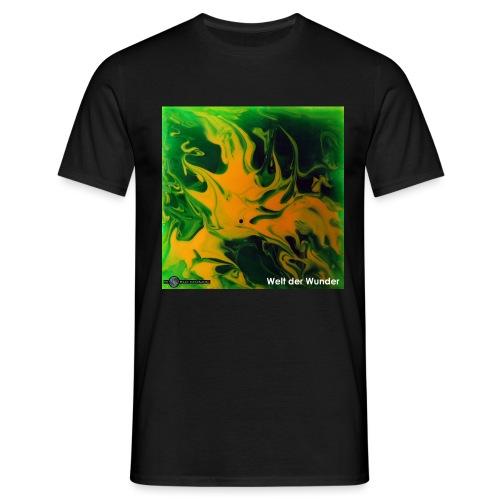 TIAN GREEN Mosaik DE002 - Welt der Wunder - Männer T-Shirt