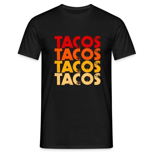 Tacos - Männer T-Shirt