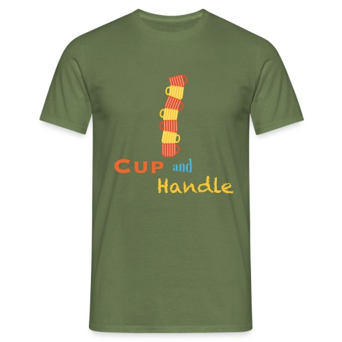 T-Shirt Cup and Handle Traders Stock Market Forex - Maglietta da uomo