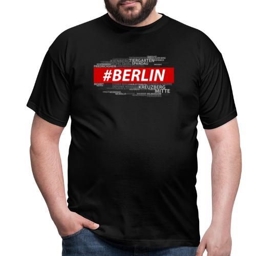 Hashtag Berlin - Männer T-Shirt
