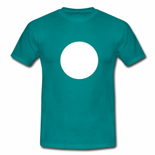 white circle - T-shirt herr