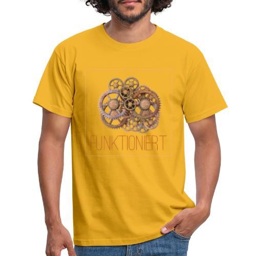 Zahnräder shirt - Männer T-Shirt
