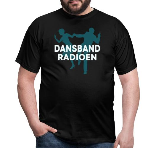 Dansbandradioen - T-skjorte for menn