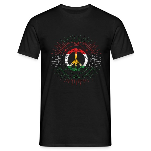 peacex2 - Mannen T-shirt