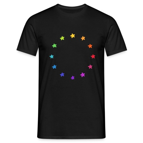 We are Europe Rainbow Doodle - Männer T-Shirt