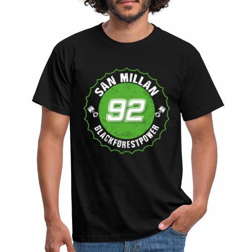 San Millan Blackforestpower 92 rund - Männer T-Shirt
