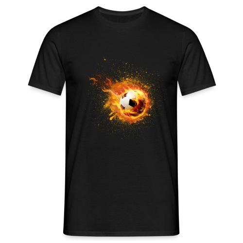 fire football - Männer T-Shirt