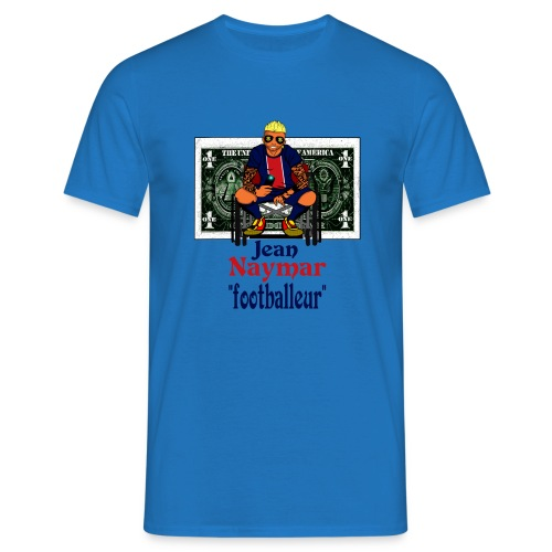 jean naymar complet dollar png - T-shirt Homme