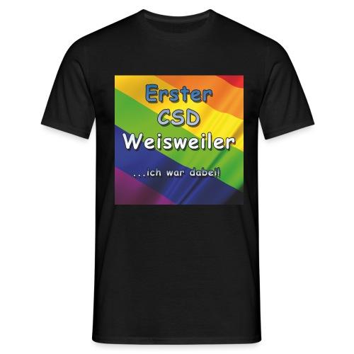 Erster CSD Weisweiler - Männer T-Shirt
