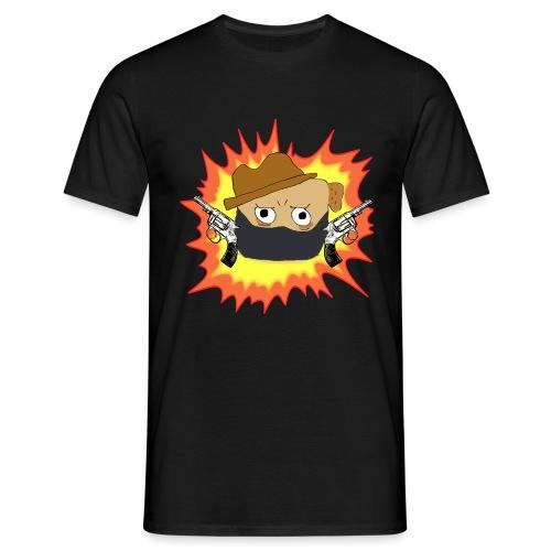 Outlaw PUG LOGO - T-skjorte for menn