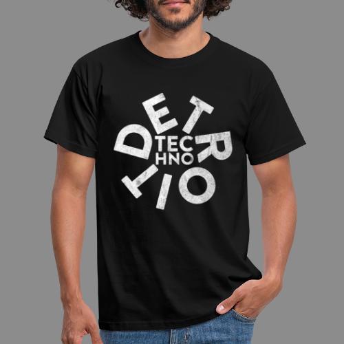 Detroit Techno - Männer T-Shirt