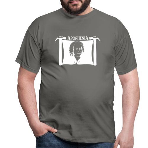 Apophenia White Logo - Mannen T-shirt