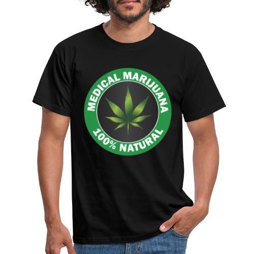 Medicinsk marijuana - T-shirt herr