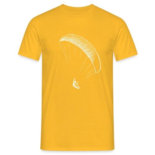 paraglider gerlitzen weiss - Männer T-Shirt
