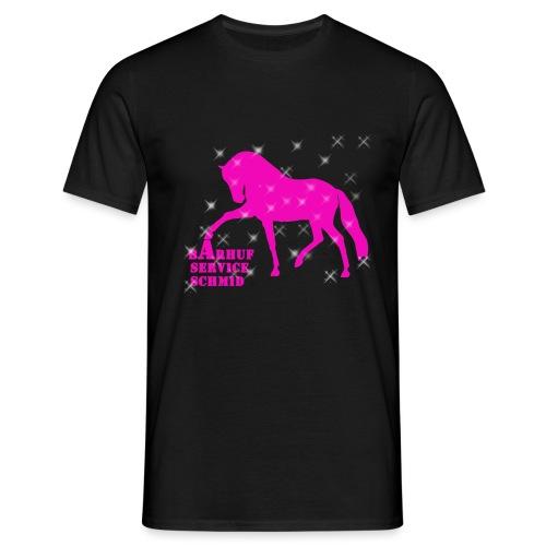 BARHUFSERVICE SCHMID Pink - Männer T-Shirt