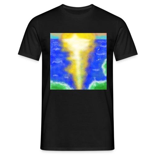 lux semper vincit - Männer T-Shirt
