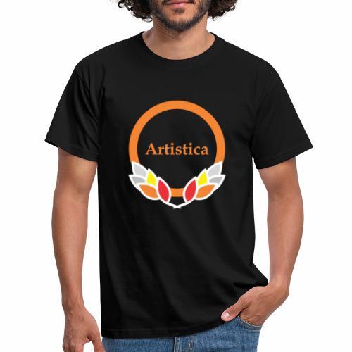 Artistica Kreis kühlen Rahmen - Männer T-Shirt