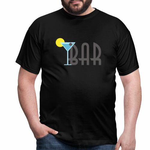 Bar Cafe - Männer T-Shirt