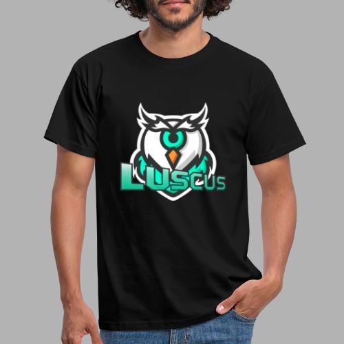 lucus schrift gross - Männer T-Shirt