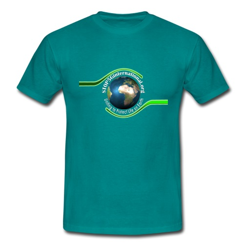 LOGO white font - Men's T-Shirt
