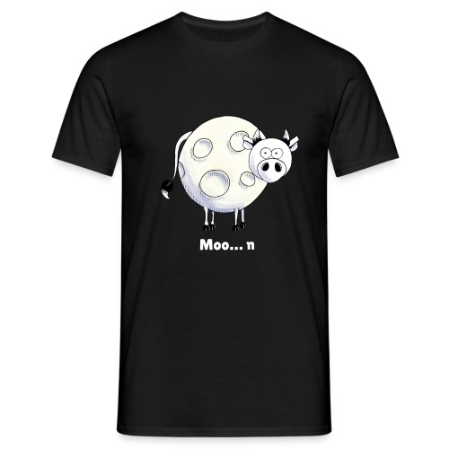 Moo…n - Men's T-Shirt