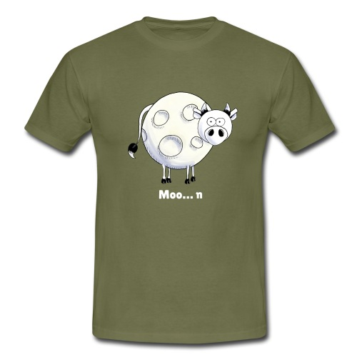 Moo…n - Men's T-Shirt