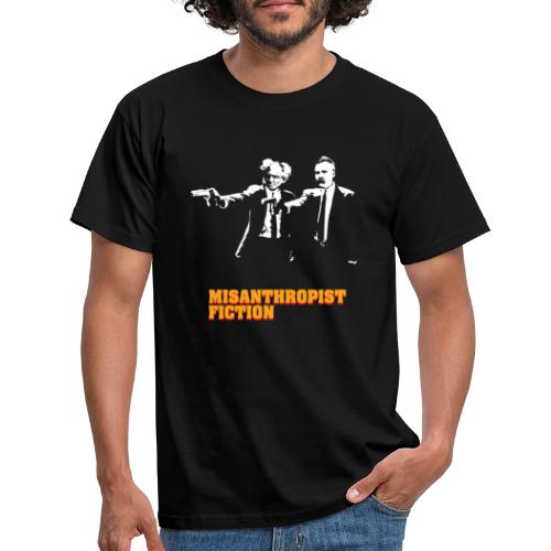 Misanthropist Fiction - Männer T-Shirt
