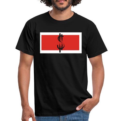 Money in Red - Männer T-Shirt