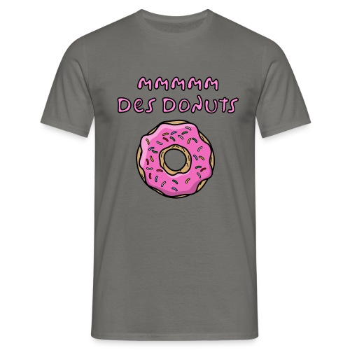 mm des donuts - T-shirt Homme